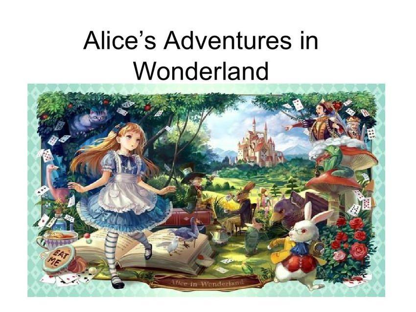 《爱丽丝漫游奇境》